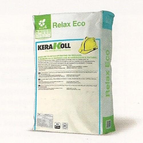 ΚΟΛΛΑ ΠΛΑΚΙΔΙΩΝ RELAX ECO KERAKOLL 25kg ΛΕΥΚΗ Κόλλες Πλακιδίων-Θερμοπρόσοψης-Μαρμάρων