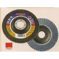 Δίσκος φτερωτός μετάλου RHODIUS 115-125mm Δίσκοι κοπής - λείανσης