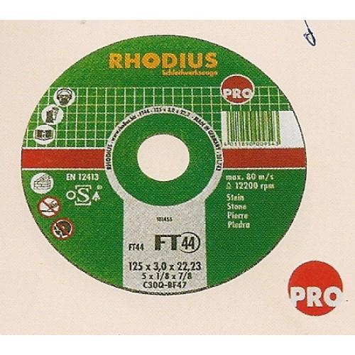 Δίσκος κοπής μαρμάρου 115-125mm RHODIUS Δίσκοι κοπής - λείανσης