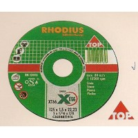 Δίσκος κοπής μαρμάρου INOX 115-125mm RHODIUS Δίσκοι κοπής - λείανσης
