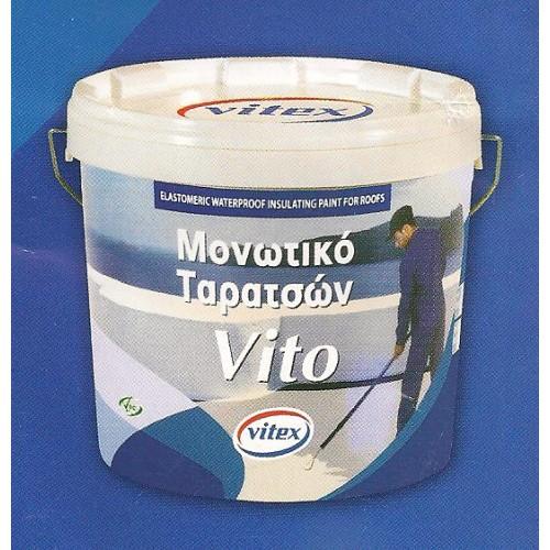 VITO VITEX 9lt ΕΛΑΣΤΟΜΕΡΕΣ ΣΤΕΓΑΝΩΤΙΚΟ ΤΑΡΑΤΣΩΝ Προσφορές Ποσοτικές Μονωτικών-Στεγανωτικών-Οικοδομικών-Χρωμάτων-Καυσόξυλων