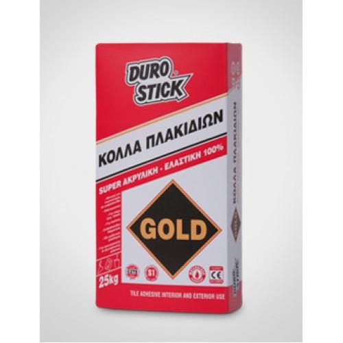 ΚΟΛΛΑ ΠΛΑΚΙΔΙΩΝ GOLD DUROSTICK 25kg Κόλλες Πλακιδίων-Θερμοπρόσοψης-Μαρμάρων